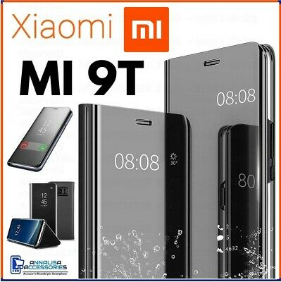 AU10.61 • Buy For XIAOMI MI 9T / 9 T CLEAR VIEW FLIP CASE SMART BOOK MIRROR LUXURY STAND COVER