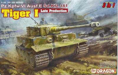 Dragon 1/35 Tiger I Late Type 3In1 6406 0089195864062 • 104.86£