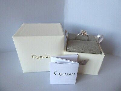 Clogau, Silver & Rose Gold Looking Glass Ring Size P RRP £109. • 58£