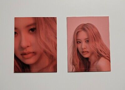 Blackpink Rose Kill This Love Album Puzzle Kpop Photocard Official • 1.40£