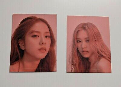 Blackpink Jisoo Rose Kill This Love Album Puzzle Kpop Photocard Official • 2£