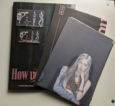 Blackpink How You Like That Ktown4u Pre Order Kpop Photocard Album Poster Cd • 7£