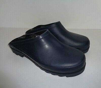Mens New Navy Wellies Waterpoof Wellington Garden Rubber Boots Clogs Size 10 • 14.48£
