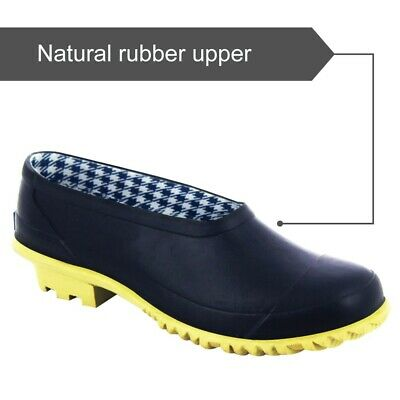 Ladies New Navy Wellies Waterpoof Wellington Garden Rubber Boots Clogs Size 3 • 13.98£