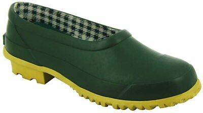 Ladies New Green Wellies Waterpoof Wellington Garden Rubber Boots Clogs Size 3 • 13.98£