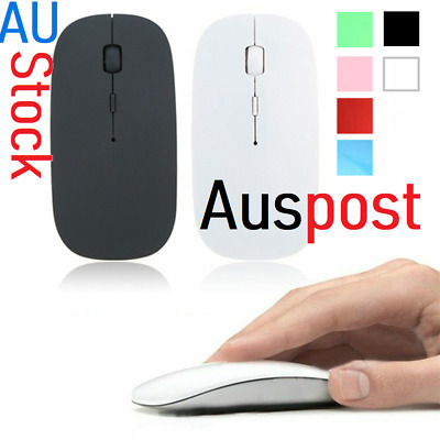 AU12.50 • Buy AU USB 1600DPI AAA Wireless Optical Basic Mouse Support Button New 4 Laptop / PC