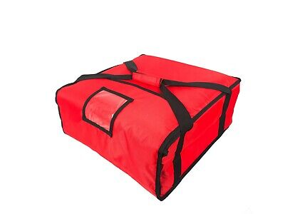 Pizza Delivery Bag For Takeaway Thermal Insulated 45x45x21cm (18 X18 X8 Inch) • 19.99£