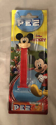 Disney Junior Mickey Mouse Clubhouse Pez Dispenser With 4 Sweet Refill Pack. • 8£