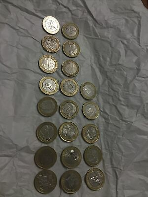 21 2 Pound Coins All Olympics Plus Other Rare Coins See Pictures  • 1.24£