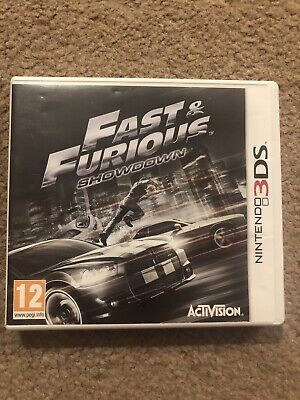 Fast And Furious Nintendo 3DS Game • 25£