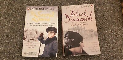 Black Diamonds And The Secret Rooms Catherine Bailey 2 Books  • 6£