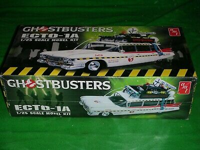 Amt 1:25 Scale Ghostbusters Ecto-1a Model Kit Not Started Box Still Sealed • 31£