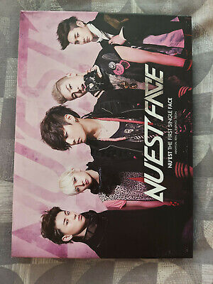 Nu'est Face Album (NO PHOTOCARDS) Official UK Seller Kpop • 10£