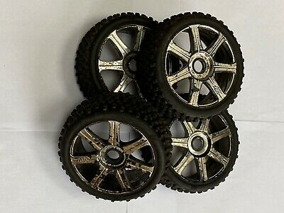 Hpi Racing Wheels, Removed From A Hpi Trophy 3.5 1/8 Scale • 25£