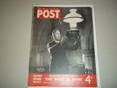 Picture Post Magazine 23 October 1948 Farthing Down  Ingrid Bergman  • 6.50£