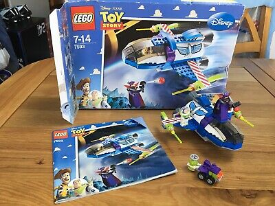 Lego Toy Story 4 Buzz's Star Command Spaceship (7593) • 6£