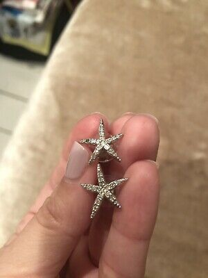 Swarovski Star Earrings • 2.50£