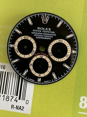 $ CDN11694.84 • Buy Rolex Black Patrizzi Dial For Zenith Daytona Watch 16520 Rare 1990s