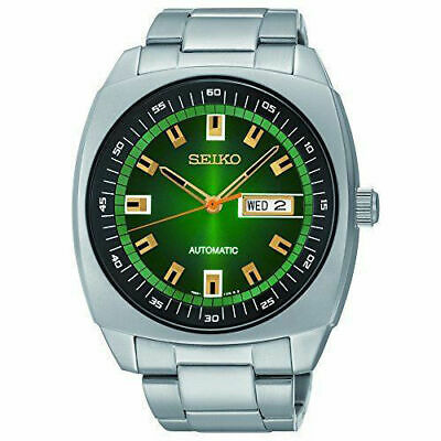 $ CDN216.29 • Buy New Seiko SNKM97 Recraft Green Dial Stainless Steel Automatic Men's Watch
