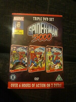 SPIDERMAN 5000 COMPLETE SERIES DVD MARVEL Cartoon Animation UK New R2 19 Eps • 8.50£