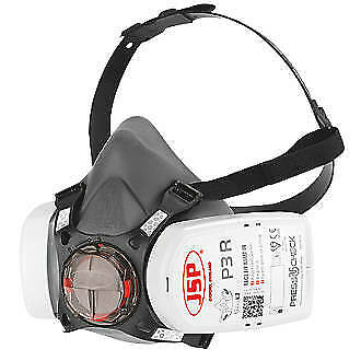 £19.95 • Buy JSP Force 8 (Medium) Protective Safety Mask P3 PressToCheck Filters INCLUDED