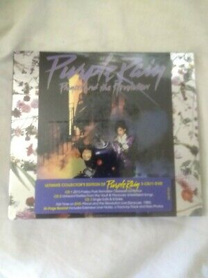 Prince Purple Rain Deluxe / Expanded Cd 3cd & Dvd New & Sealed • 44.99£