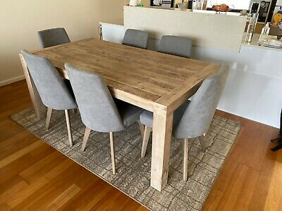 AU400 • Buy Dining Table + 6 Chairs