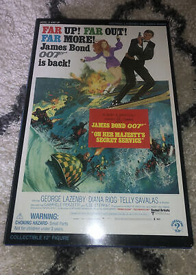 Sideshow 007 James Bond On Her Majesty's Secret Service George Lazenby AFSSC327 • 80£
