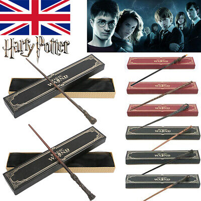 Harry Potter Hermione Magic Wand Cosplay Draco Malfoy Voldemort Metal Core Wand • 10.99£