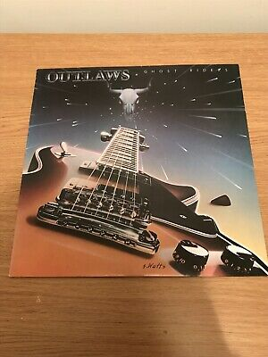 OUTLAWS Ghost Riders In The Sky ARISTA 1980 UK Original A 1-B 1 VINYL LP • 5£