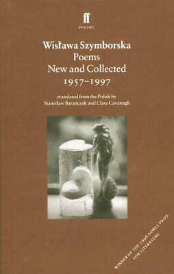 Poems, New And Collected (Faber Poetry), Szymborska, Wislawa, Used Very Good Boo • 5.94£