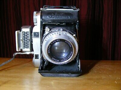 Vintage Camera Balda, Super Baldax, With Lens And Flash, Old,rare,not Tested, • 88£