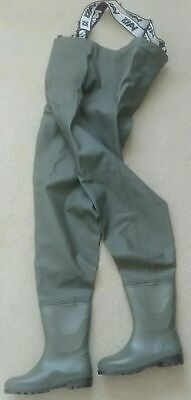 VASS TEX Performance Waterproof Fishing Chest Waders VA600-7 Very Good Condition • 49.99£