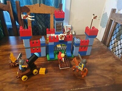 Lego Duplo Set 10577 Big Royal Castle With King & 3 Knights Complete • 39.99£