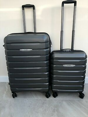Samsonite Tech 2 Expandable Hard Shell Suitcase Set 75cm With 3 Digit Code  • 190£