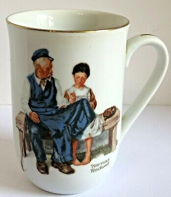 $ CDN5 • Buy Vintage 1982 Norman Rockwell Museum   The Lighthouse Keeper's Daughter  Cup Mug
