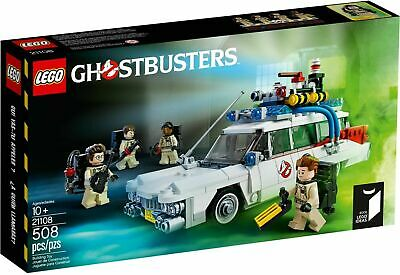 LEGO GENUINE Ideas 21108 Ghostbusters Ecto-1 BRAND NEW & SEALED RARE RETIRED • 84.95£