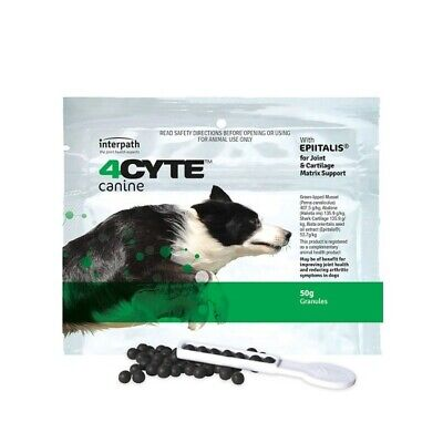 AU44.22 • Buy 4CYTE Canine 50g For Sore Joints And Arthritis In Dogs