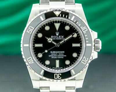 $ CDN15905.54 • Buy Rolex 114060 Submariner No Date Ceramic Bezel SS 2019 ORIGINAL BOX AND PAPERS!