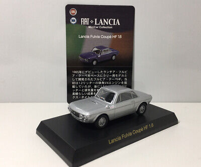 £11.76 • Buy Kyosho 1/64 Lancia Fulvia Coupe HF 1.6 Diecast Car Model Silver
