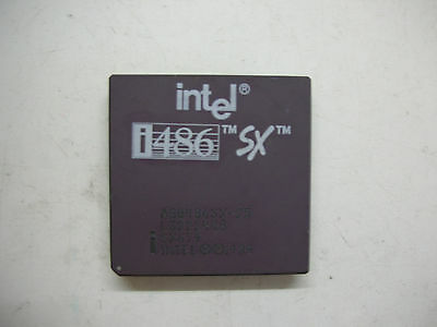 AU34.14 • Buy CPU Intel I486 SX SX797 Socket 168