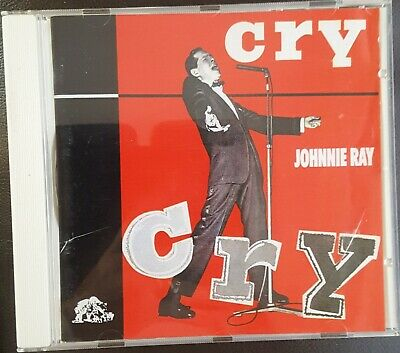 Johnnie Ray Cd - Cry - With 24 Page Booklet - Very Good Condition • 4.45£