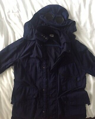 Cp Company Mille Miglia Navy Goggle Jacket XL • 200£
