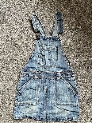 Gorgeous Girls Denim Dungarees Age 11-12 Years Blue • 4.99£