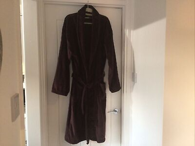 Mens Easy Dressing Gown /Bath Robe Size Large Excellent Condition • 6£