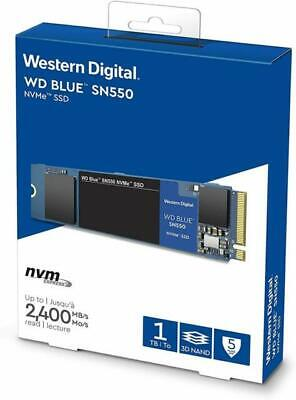 WD SN550 1TB High-Performance M.2 Pcie NVMe SSD - Blue • 23.45£