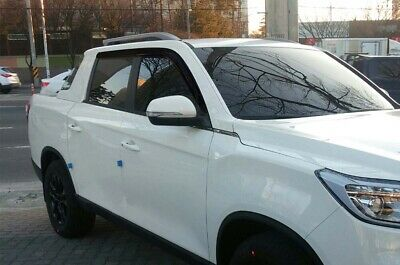 AU69.95 • Buy Smoke Weather Shields Wind Deflectors 4p For 2019 2020 Ssangyong Musso XLV