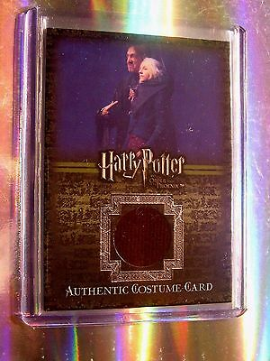 Harry Potter-Evanna Lynch-Luna Lovegood-OOTP-Movie-Screen Used-Costume Card-C8 • 26.83£