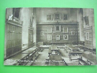 Frith's Postcard - OXFORD - NEW COLLEGE DINING HALL, (Founded A.D. 1386). • 1.10£