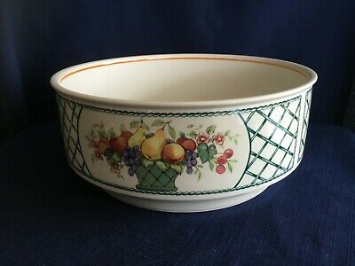 Villeroy & Boch Basket 8 1/4  Salad / Fruit / Serving Bowl -very Minor Scratches • 40£